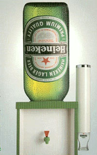 Heineken office cooler