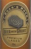 Boar's Rock Premium Lager