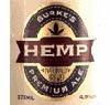 Burke's Original Hemp-Filtered Premium Ale